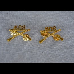 WWII 508th Infantry Badges