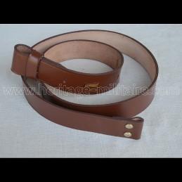 Cavalry belt LIGHT BROWN