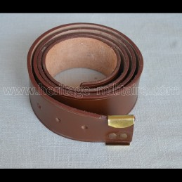 Simple belt with keeper...