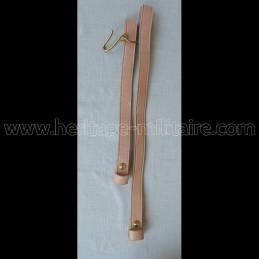 Sword hanger straps NATURAL