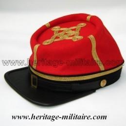 CS officer cap Artillery 1861