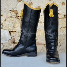 Boots Hussars officer with...