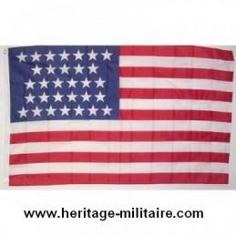 """Union flag 31 stars """"1851 - 1858"""""""