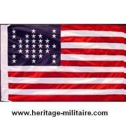 "Union flag 33 stars ""Fort Sumter 1859"""