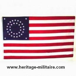 "Union flag round 34 stars ""1861 - 1863"""