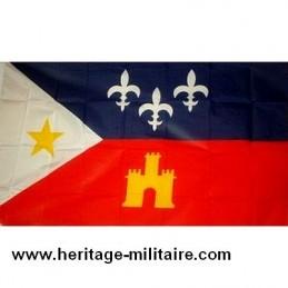 Acadien Cajun confederate flag