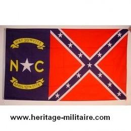 Drapeau confédéré Caroline du nord