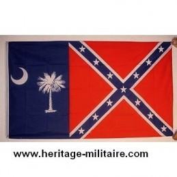 Drapeau confédéré Caroline du sud