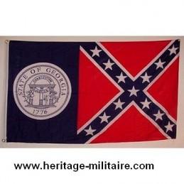 Georgia confederate flag