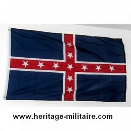 Drapeau polk pattern battle flag