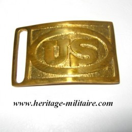 "Buckle rectangular ""US"" 1872"