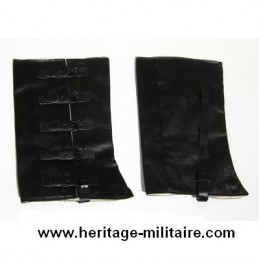 Gaiters tarred canvas