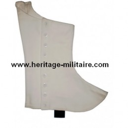 Gaiters parade in white linen