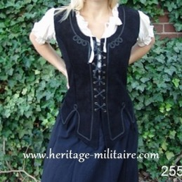 Bodice of leather 2553