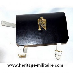 Cartridge box regular infantry first Empire.