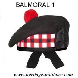 Beret écossais BALMORAL