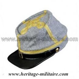 Képi CS Officier gris galon doré