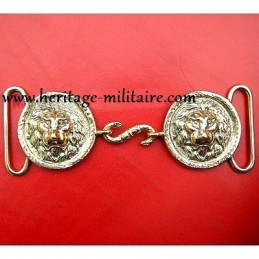 "Closure belt of light cavalry officer ""lion head"""