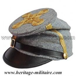 Képi CS Officier gris galon doré bummer