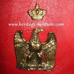 Aigle et couronne de sabretache
