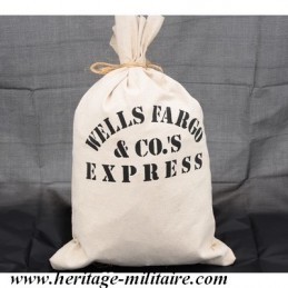 "Canvas bag ""Wells Fargo"""