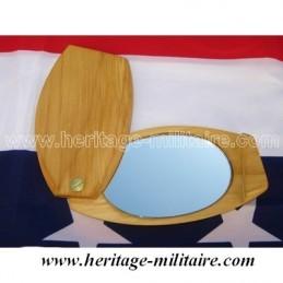 Foldable mirror