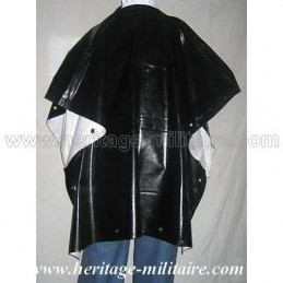 Poncho rubberized or tarred