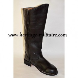 Cavalry boots model n°1 with round toe
