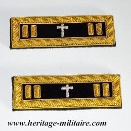 Chaplain shoulder boards