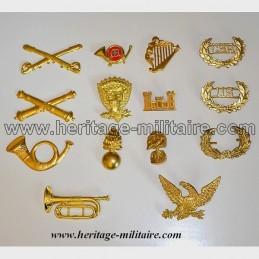 Insigne en métal