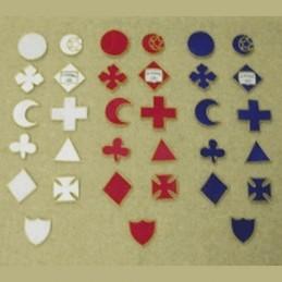 Insigne de Division et de Corps d'Armée