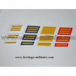 Insignes de col d'officier CSA