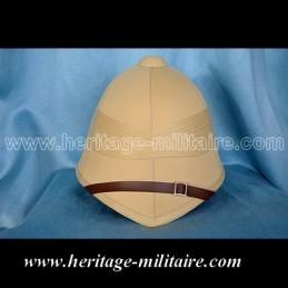 Beige helmet colonial Empire Napoleon III
