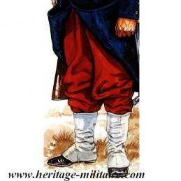 Pantalon rouge Infanterie  française Napoleon III