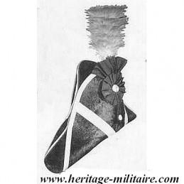 """Bicorne """"Officier Britanique 1812"""""""