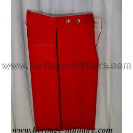 French pants red with fine line black Napoleon III