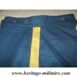 Pantalon bleu ciel foncé