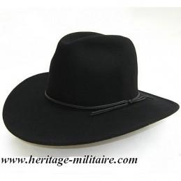 Chapeau feutre souple noir
