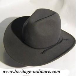 Chapeau feutre souple gris