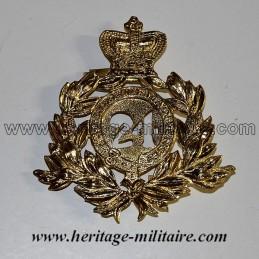 "Helmet insignia ""24th foot regiment"" 1879 UK"