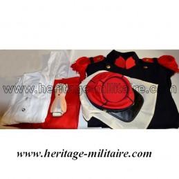 """Set of uniform  Capote Infantry French """"Piou Piou"""" Napoleon III"""