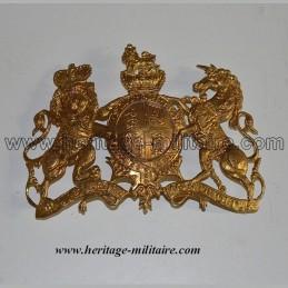 Grande plaque  d'officier Britannique