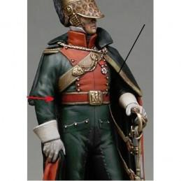 Ceinturon d'officier de chevau-legers Lanciers avec bélières de sabre