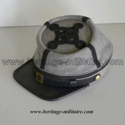 Képi CS Officier gris galon noir