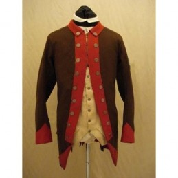 Frock coat 4th Connecticut 1777 USA