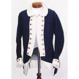 Frock coat Continental Army 1777 USA