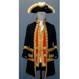 Officier aide camp Français 1777