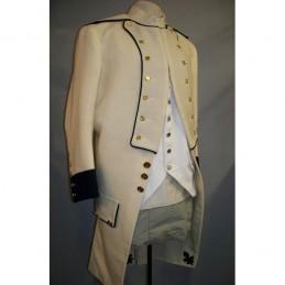 Uniforme Français regt de Saintonge 1777