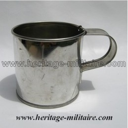 Cup stainless steel with hook,