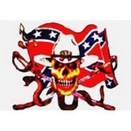Cavalry Snake Skull flag